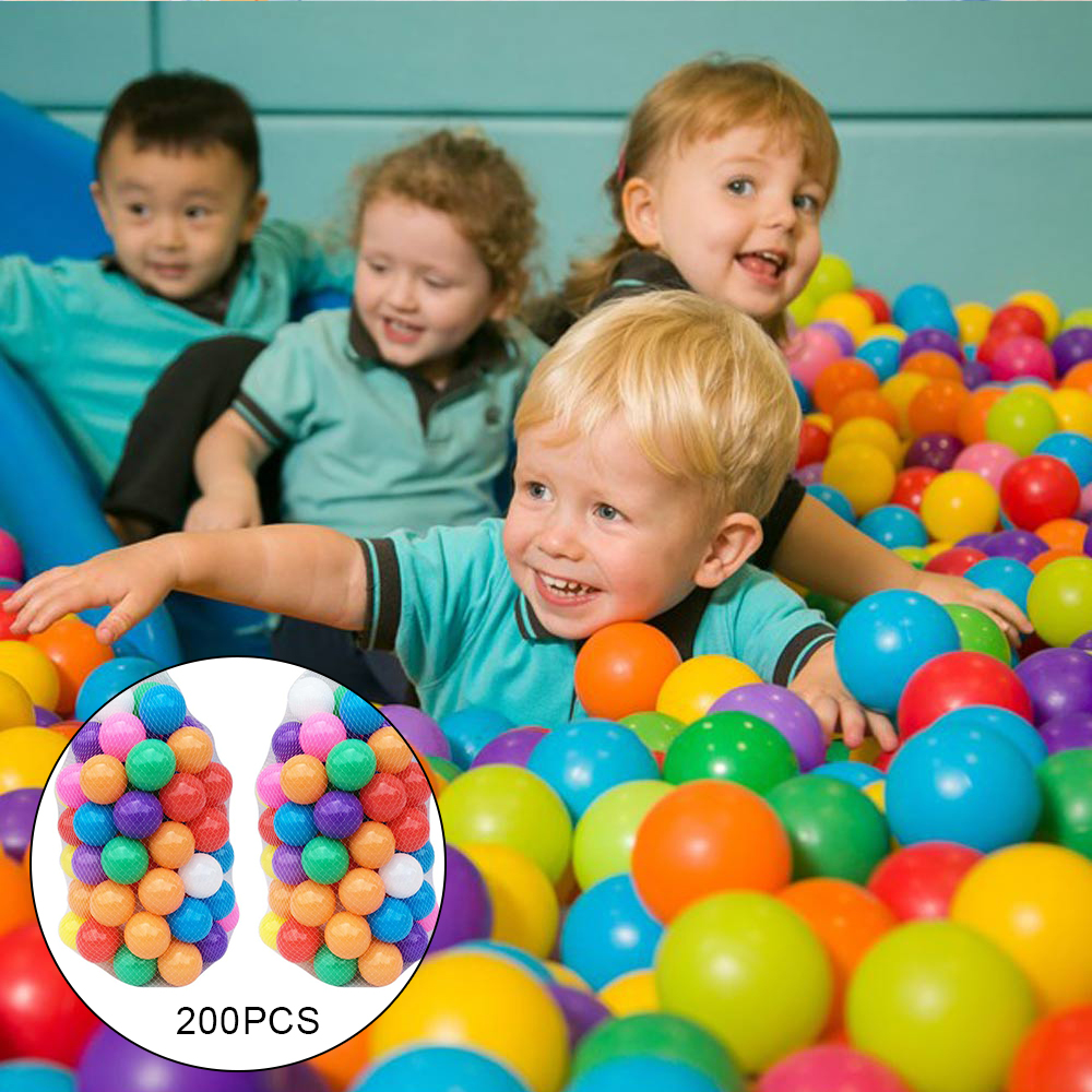 Orderly 100 Pcs/lot Eco-friendly Colorful Ball Soft Plastic Ocean Ball Funny Baby Kid Swim Pit Toy Water Pool Ocean Wave Ball Dia 5.5cm In Short Supply Outdoor Fun & Sports