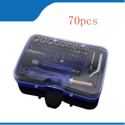 screwdriver set insulat Screwdriver Set 70 in 1 Screwdriver Repair Tool Set For iPhone Cellphone Tablet Worldwide Store tool батарея duracell turbo max lr6 4bl 4 шт aa