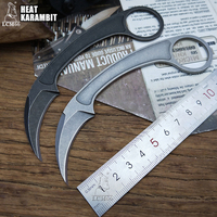 LCM66 Tactics karambit scorpion claw knife outdoor camping jungle survival battle Fixed blade Bastinelli Knives self defense