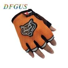 2016 Hot Sports Gym Gloves Men Fitness Exercise Anti Slip Weight Lifting Gloves Half Finger Body Workout Women Glove