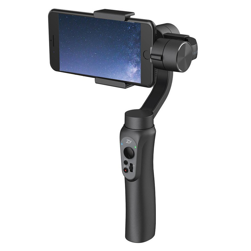 Zhiyun Smooth Q 3 Axis Handheld Gimbal Portable Stabilizer For Smartphone Within 6 Inches And Gopro