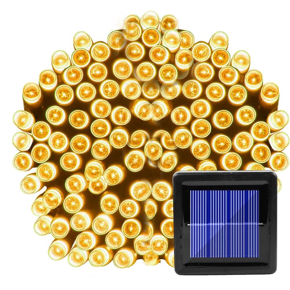 100 LED Solar String Light Outdoor Waterproof Fairy Solar Lights For Garden Decoration Christmas Solar Powered Lamp Strip 200LED (3)