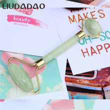 Natural Jade Rollers Facial Lift Massage Tools Smooth Rollers Stone Beauty Healt