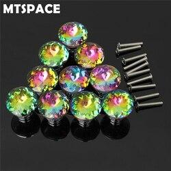 Металлические дверные ручки для шкафа MTSPACE 10 шт./компл.