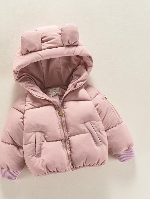 NICBUY mengk2018 Boys Winter Jacket New Brand Hooded Kids Girls Winter Coat Long Sleeve WindProof Children Down Coat Outw