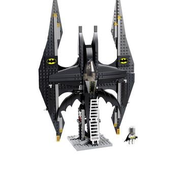336 個 Legoings バット戦闘機スーパーヒーローバット男道化師のビルディングブロックのおもちゃ子供誕生日クリスマスギフトプラスチックモデルキット