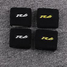 Мотоцикл R6 3D Логотип передний тормоз резервуар носок жидкость масляный бак крышка протектор Набор для Yamaha YZF R6 YZF-R6 YZFR6 R6s