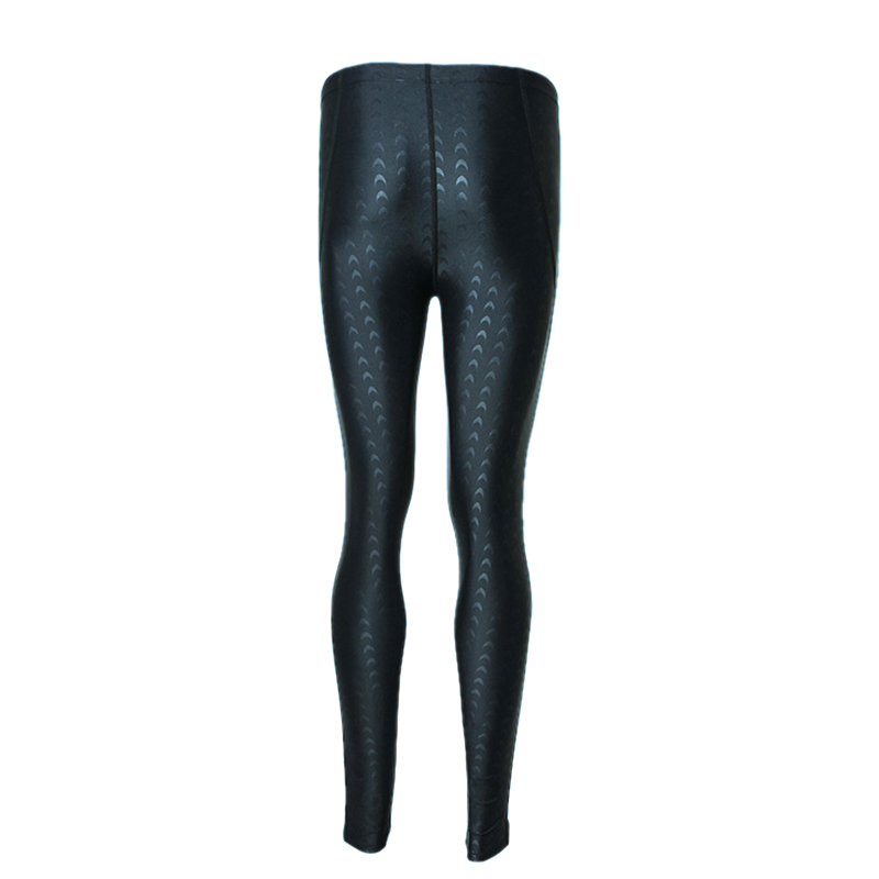 Professional Swimming Shorts Long Pants Women Men Quick Dry Shark skin Swim Trunks Jammers swimwear Diving Wetsuit swimsuit