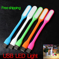100% Original foldable USB LED Lamp 5V 1.2W 5 Colors Portable Flexible Light LED Light with USB For Power bank Computer Led Lamp