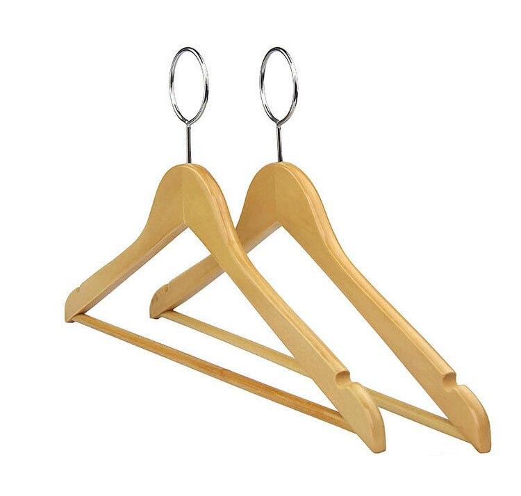 Hangerlink de înaltă calitate anti-furt de lemn de cuier pentru - Organizarea și depozitarea în casă