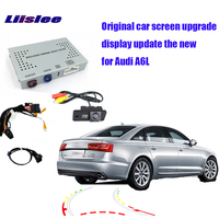 Liislee For Audi A6L Parking Camera Interface Original Display Update Reversing Back Up Kits digital decoder