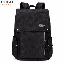 VICUNA POLO Brand Fashion Camouflage Drawstring Backpack Large Capacity Casual M