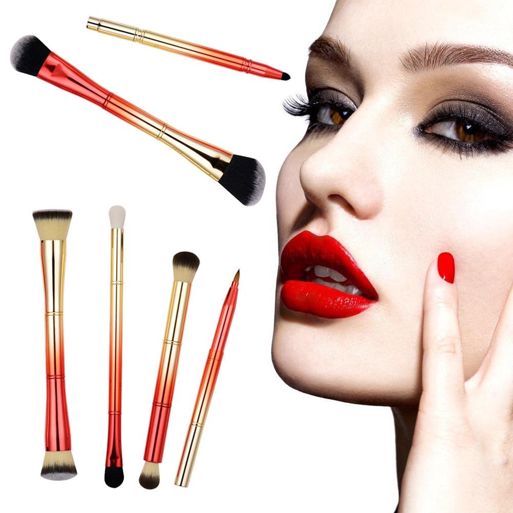 6PCS Fashion Gradient Color Cosmetic Makeup Brush Makeup Brush Eyeshadow Brush newly design fashion blusher cosmetic makeup brush sep11