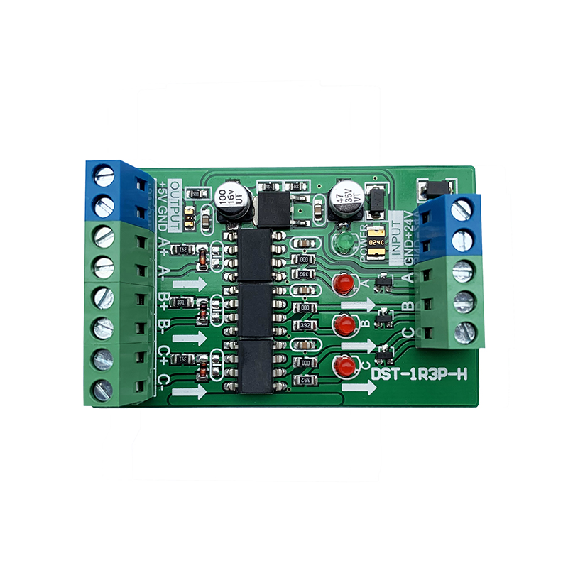 3 Channel Differential Signal Conversion Single-ended Collector Grating Ruler Servo Encoder Signal - >P LC