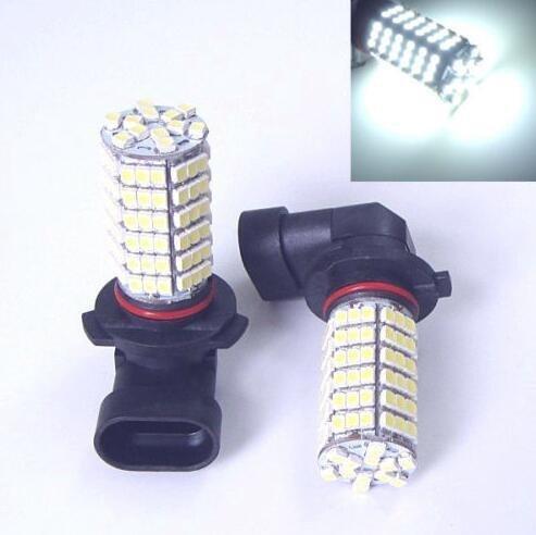 Par Hb4 9006 120 Smd Led Branco Bulbo Carro Fog Lamp/Neblina Milha Drl Estilo