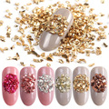1 Set Mixed Design New Nail Art Sticker Set Zircon Gold Silver Glitter Geometric Figure Water Decal Slider Wraps Decor Manicure in Stickers Decals from Beauty Health