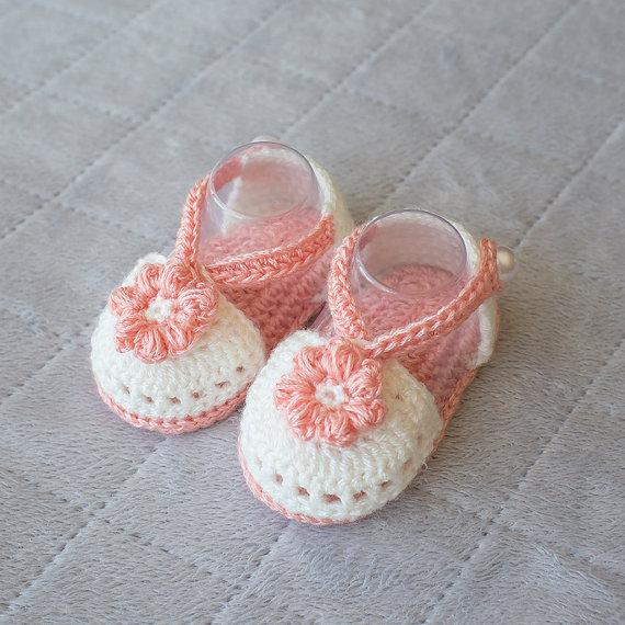 Sommer Häkeln Baby Sandalen Mädchen Sandalen Frühjahr Baby Mädchen