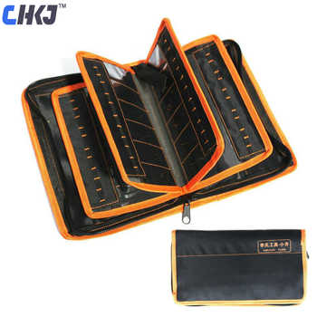 CHKJ 2 in 1 LiShi Tool Bag For Lishi Tool Set 50pcs Can Be Packed Locksmith Tools Thicken Tool Storage Bag Free Shipping - DISCOUNT ITEM  28% OFF All Category