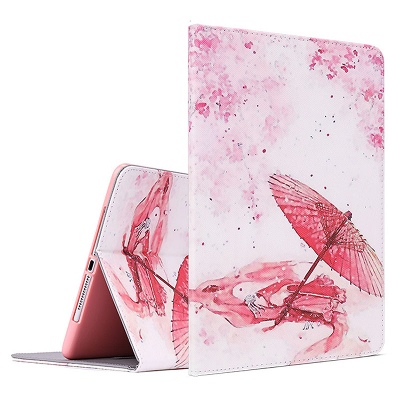 Case For New ipad 2017 2018 Soft silicone with Auto Wake UpSleep Function Stand Smart Cover  Case For ipad Air 1 Air 2 Pro 9 (3)