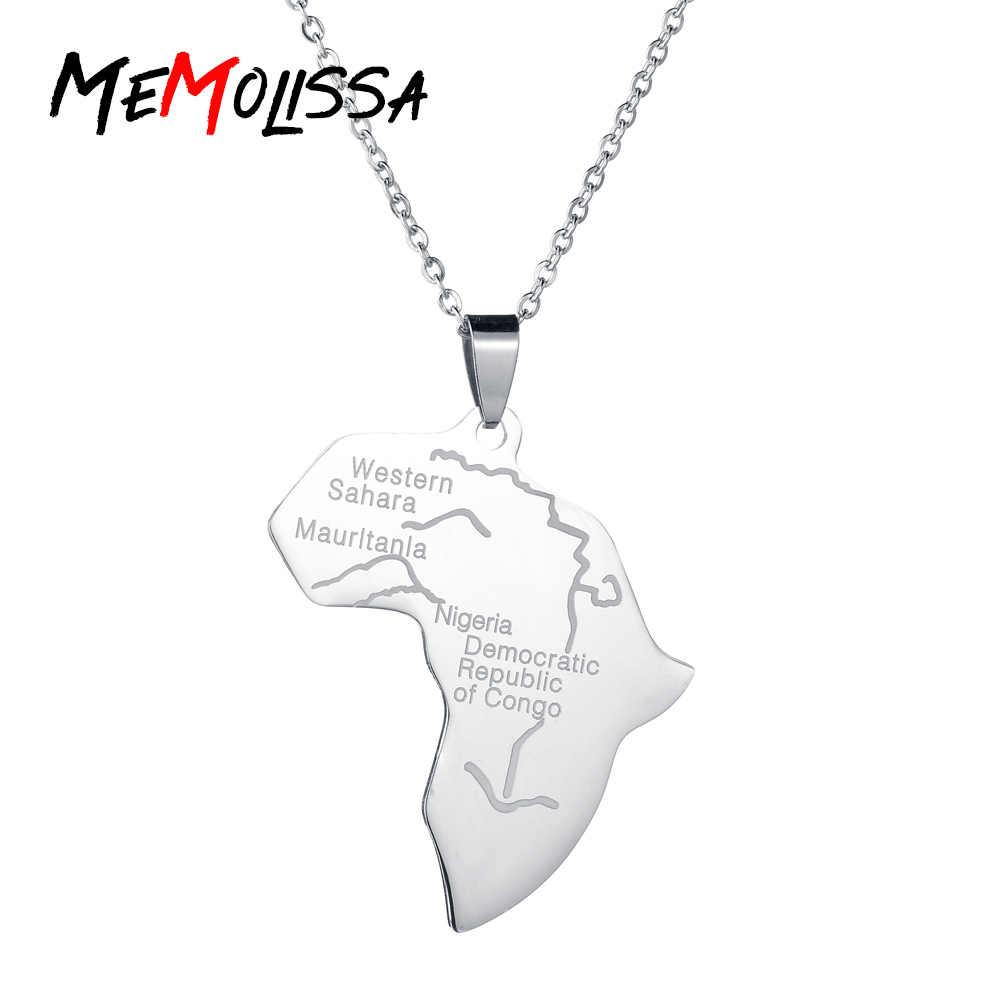 MeMolissa Hiphop mapa afryki naszyjniki wisiorki srebrny globus z mapą świata afryki i aktualną pogodę lub przeczytaj ostatnie wisiorek naszyjnik kobiety mężczyźni