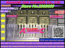 Aoweziic 100% novo importado originais SIHF22N60E E F22N60E 21A SIHF22N60E TO 220 de potência MOS tubo 600 v