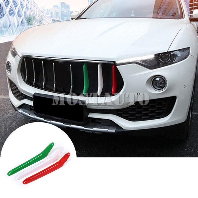 2018 Maserati Levante Interior: ABS Front Grill Grille Insert Trim Cover For Maserati