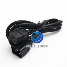 C19 C20 Power Cord Server UPS Power Cable C19 Female to C20 Male power supply cord 3X2.5mm square Power Wire 1.8m 10 pcs