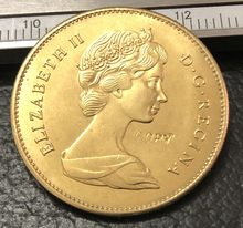1967 Canada 20 Dollars Gold Copy Coin(China)