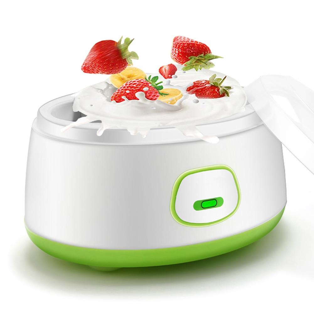Fashion DIY Home Electric Yogurt Machine Maker Automatic Energy Saving Mini Stainless Steel Liner High Quality HY99 JU01