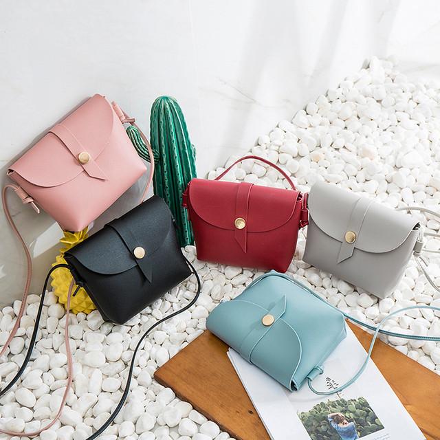 Small Bags For Women Girls 2019 Fashion Vintag Leather Ladies Hand Bags Totes Handbag Messenger Shoulder Bag For Women bolsas