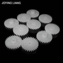 Toy Gear-Disc 282a-Module Plastic Pinion-Fittings Tooth 2mm 10pcs/Lot