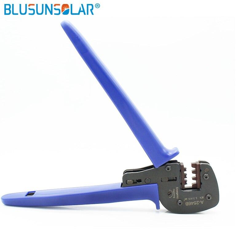 Hand Tools 2pcs/lot Solar Pv Crimp Tool For Mc4 Terminal Solar Cable 2.5mm2 4mm2 6mm2 Crimper Crimping Tools For Diy Solar System Xq0092