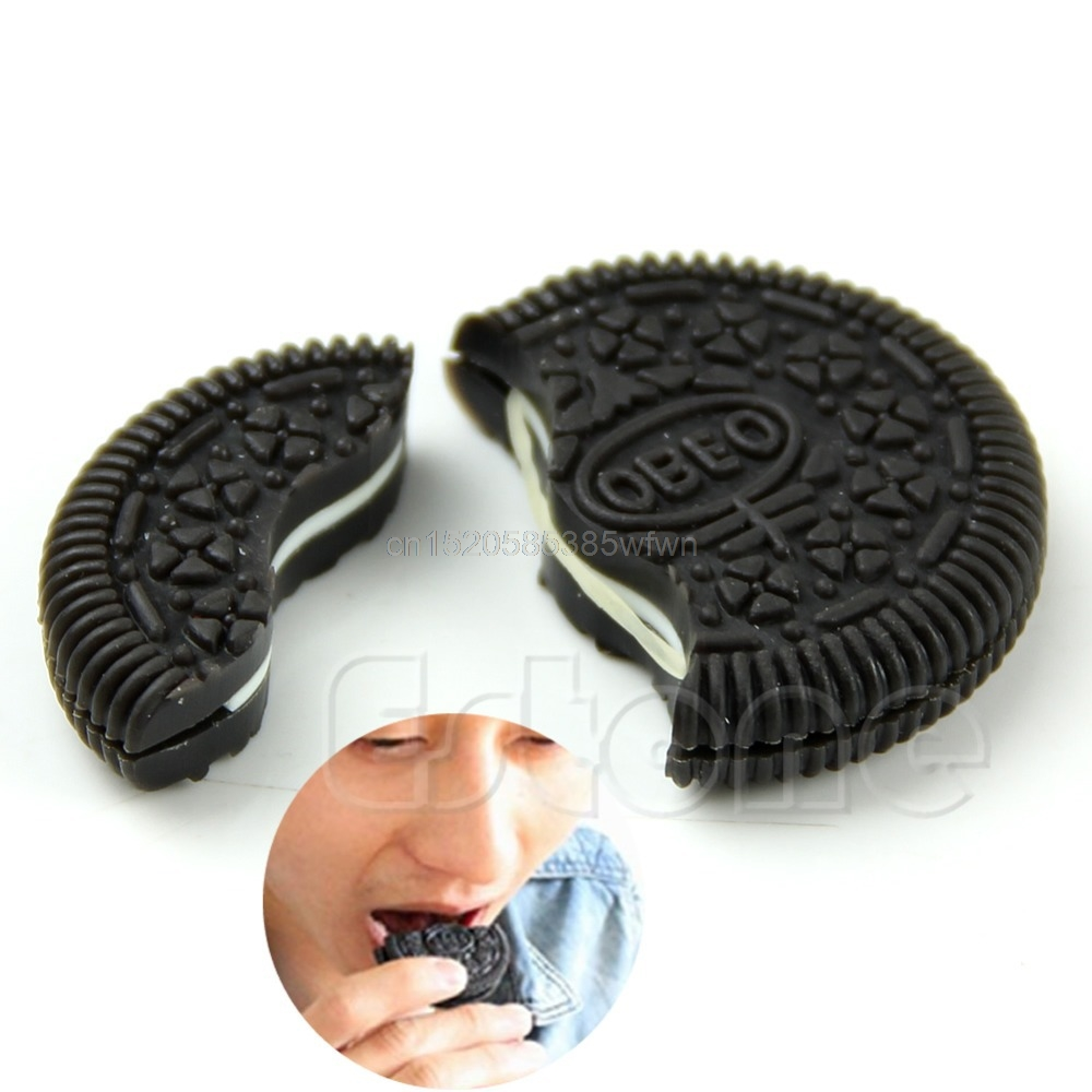 Magic Close-Up Cookie Street Trick Biscuit Bitten And Restored Gimmick OREO Bite #HC6U# Drop Shipping