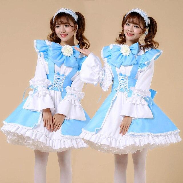Online Shop Shanghai Story Plus Size Lolita Dress Maid Cosplay