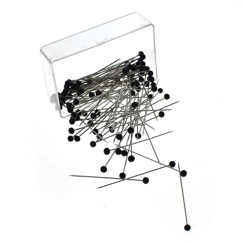 100pcs-box-Round-Head-Dressmaking-Pins-Weddings-Corsage-Florists-Patchwork-Straight-Sewing-Needle-Pins-DIY-Craft (1)