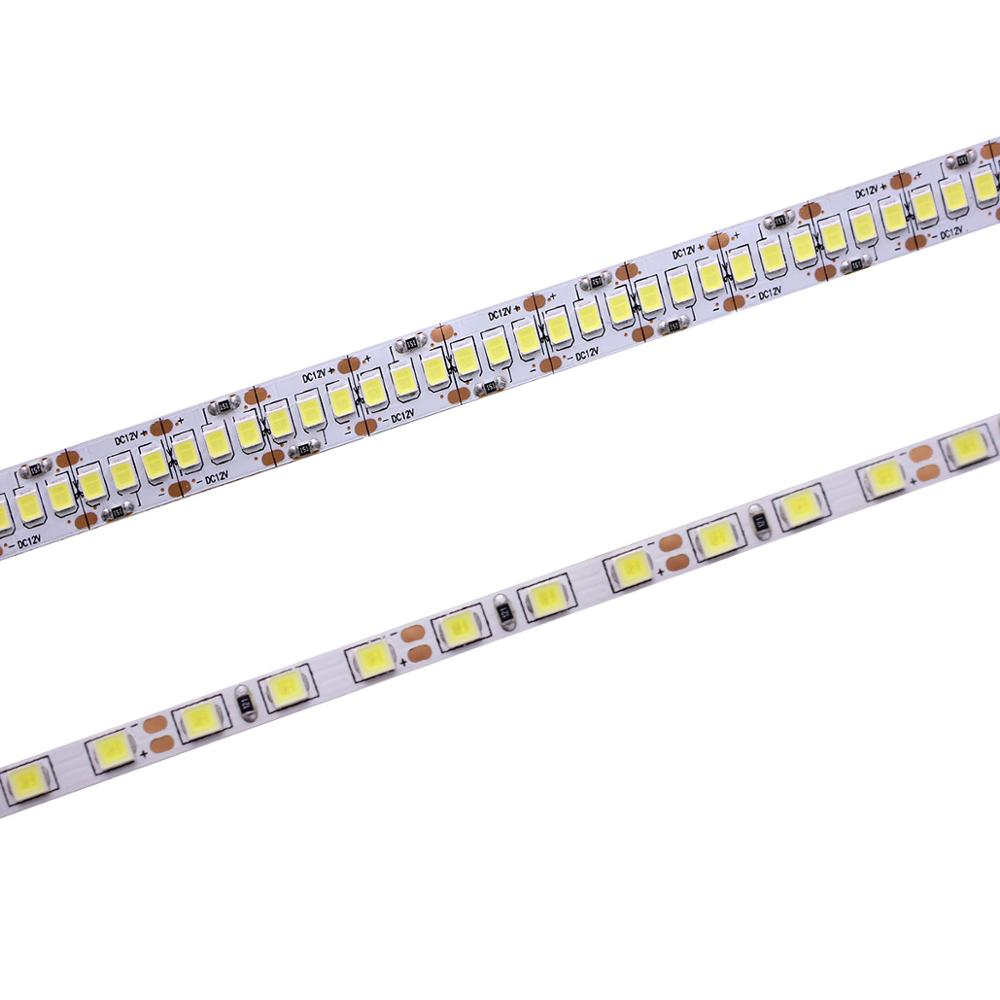 Narrow Width DC12V LED Strip 2835 120/240led/m 5 Meters Flexible Strip Light White,Warm White,Blue,Green,Red No Waterproof Strip