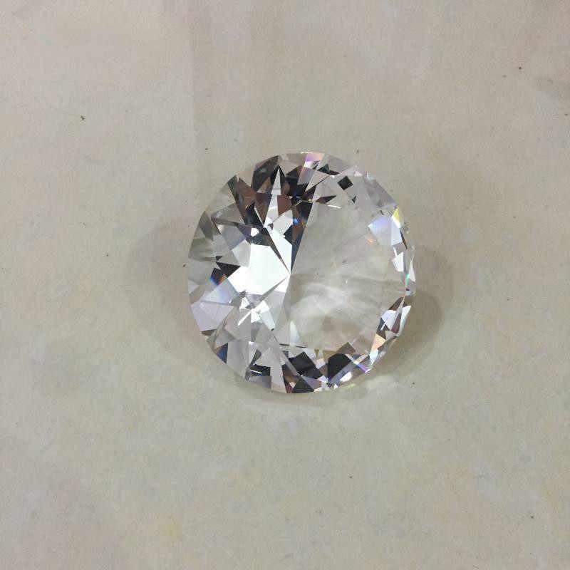 Cristallo di Diamante di Vetro del mestiere regali ufficio decorazione per la cerimonia nuziale di San Valentino 'souvenir Fermacarte shimmer lustro gemme sto
