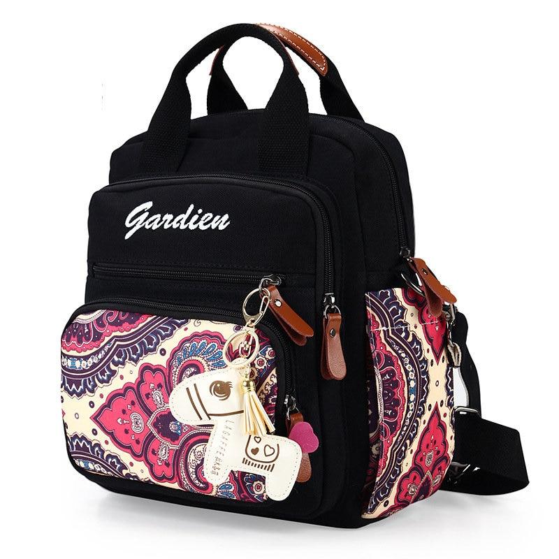 Bohême fleur sac à langer pour maman sac à dos voyage Multi fonctionnel bébé Nappy sacs pour poussette organisateur bolsa infantil 5 couleur