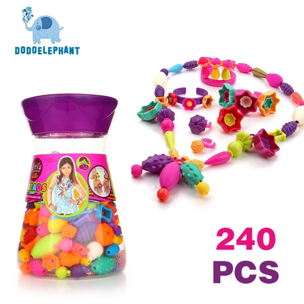 Dodoelephant 240Pcs Fai puzzle di plastica fai-da-te-8161