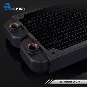 Image 4 - BYKSKI échangeur de chaleur, radiateur dordinateur de refroidissement à eau, liquide pour ventilateurs 12cm, 360mm, épaisseur 28mm, B RD360 TN mm