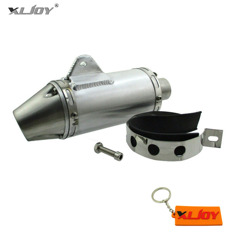 XLJOY 32mm Performance Racing Pit Dirt Bike T4 Muffler For 150cc 160cc Pit  Dirt Bike Mini Motocross