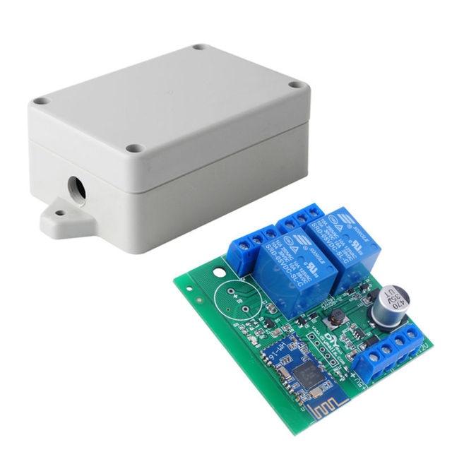 DIYmall 2 Реле Канала Модуль Bluetooth 4.0 BLE с HM-16 Доска для Apple Android Телефон IOT с Коробкой 5 В 24 В 10a FZ1696