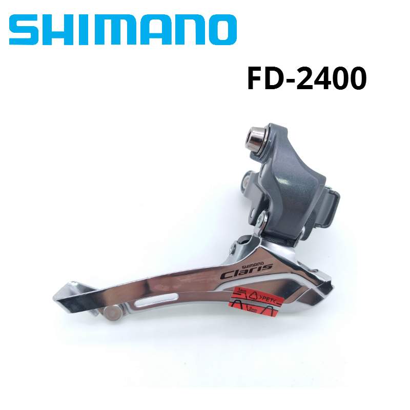 Shimano Claris FD-2400 Road Bike Bicycle Front Derailleur Clamp 31.8mm 34.9mm