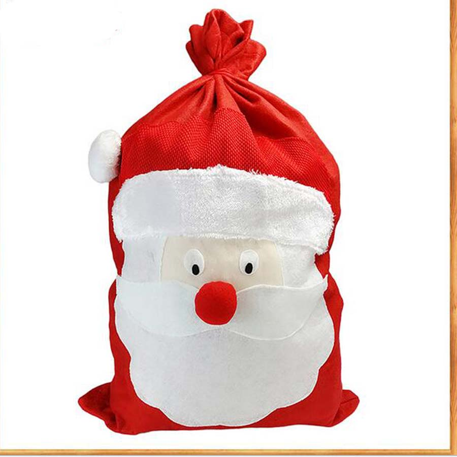 1Pcs New Creative 50x75cm Christmas gift bag Santa Claus ...