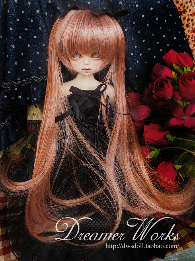 1/4 1/3 scale BJD  doll wig long hair for DIY BJD/SD accessory.Not included doll,clothes,shoes,and other accessories 17C3317