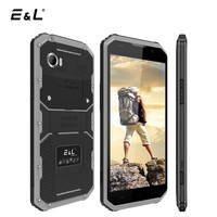 E&L W9 4G LTE IP68 Mobile Phone Android 6.0 MTK6753 Octa Core 2+16GB 1920*1080 IPS Smartphone 6 Inch Waterproof Shockproof Phone