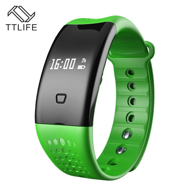 ФОТО TTLIFE Bluetooth Pedometer Wristband Sleep Monitor Smart Bracelet Activity Monitor IP67 Waterproof Smart Watch