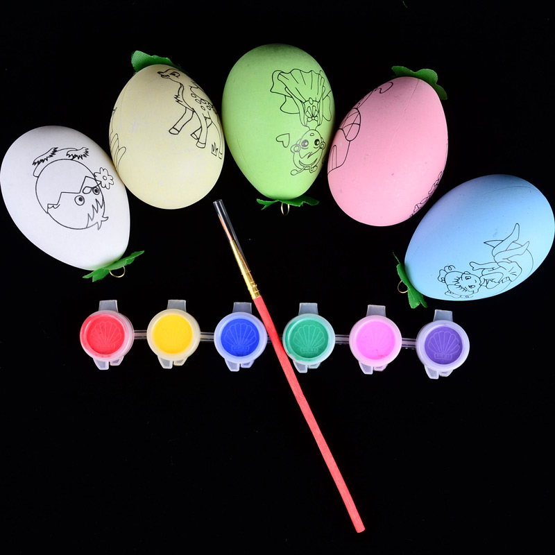 BOHS Easter Eggs Children Painting Drawing Toy , Random Designs