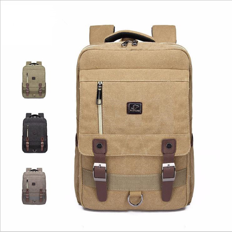 2018 New Korean College Wind Canvas Backpack Personality Fashion Retro Canvas Bag Unisex 35L Backpack Fashion Backpack L1018 рюкзак fashion tender 2015 z 082 canvas bag fashion college backpack women vintage backpack