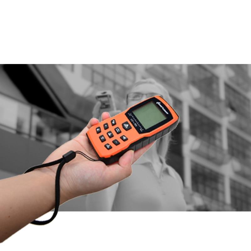Dalmierze laserowe LOMVUM Pomarańczowy miernik odległości Ręczny - Przyrządy pomiarowe - Zdjęcie 5
